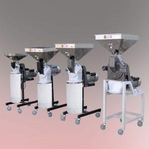 اسیاب تکفاز نیمه صنعتی